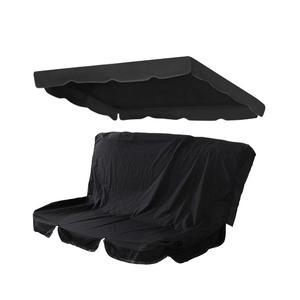 Conjunto de cubierta plegable de columpio de Patio, cubierta de reemplazo de dosel de columpio, cubierta superior de porche impermeable para asiento de Patio