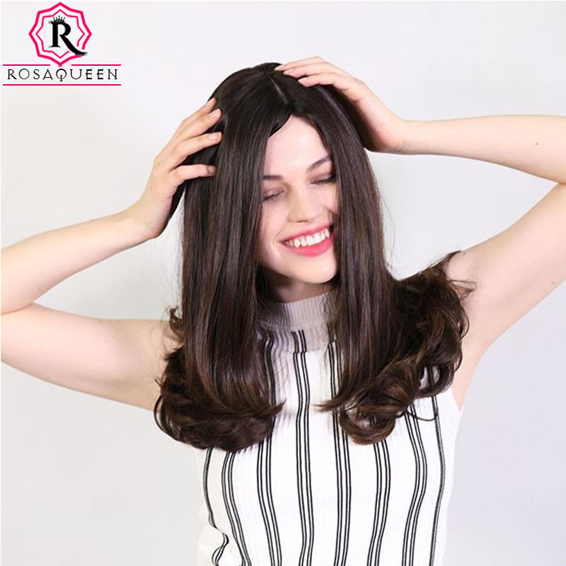 Jewish Wig Kosher Wigs Best Quality Silk Base Soft Virgin European Human Hair Wigs Double Drawn Bob Wigs Rosa Queen