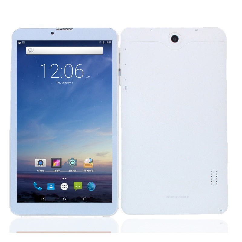 A710 3G Phone Call Tablet PC 7inch MTK8321  Dual Sim Card Android 5.1 Wifi  1GB+8GB  Quad Core 1024*600 2 Camera