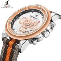 남성용 새로운 시계 weide 최고 브랜드 럭셔리 쿼츠 시계 남성 방수 크로노 그래프 스포츠 손목 시계 날짜 군사 남성 시계