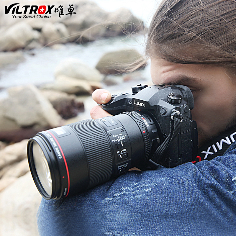 Image 5 - Viltrox EF M1 Auto Focus Camera Lens Adapter for Canon EOS EF EF S Lens to M4/3 mount GH5 GH4 GX85 Olympus E M5 II  E M10 IIILens Adapter   -