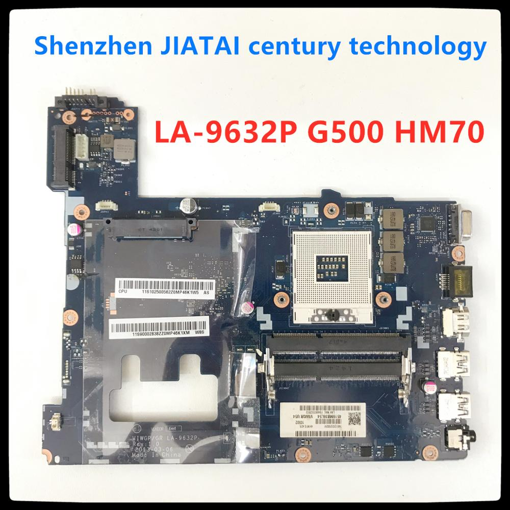LA-9632P G500 Motherboard HM70 For Lenovo G500 Laptop Motherboard VIWGP/GR LA-9632P Rev:1.0 PGA989 HM70 Mainboard 100% Test Ok