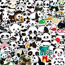 50 pçs/set Bonito Panda China Copo PVC Adesivos À Prova D' Água Diy Scrapbooking Journaling Adesivo Laptop Adesivos Decorativos Papelaria