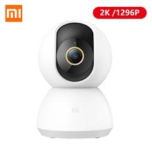 Xiaomi cámara IP inteligente Mijia, 2K, 1296P, vídeo de 360 ángulos, CCTV, WiFi, cámara web inalámbrica de visión nocturna, cámara de seguridad para Monitor de bebé Mi Home