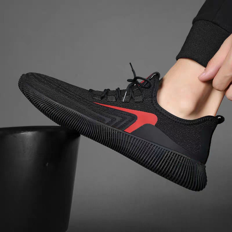 2020 New Mesh Men Sneakers Casual Shoes Lac-up Men Shoes Lightweight Comfortable Breathable Walking Sneakers Zapatillas Hombre