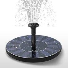 7V fontanna solarna zestaw do podlewania moc pompa solarna basen staw zatapialny wodospad pływający Panel słoneczny fontanna do ogrodu