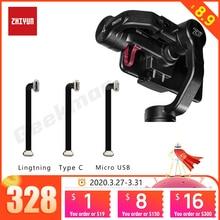 Zhiyun Glad 4 Gimbal Lightning Type C Micro C Lading Kabel Voor Samsung Iphone 6 7 8 X Android Naadloze 75Mm