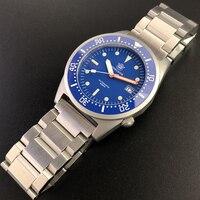 STEELDIVE 1979 Shark NH35 Taucher Uhr 200m Automatische Uhren Herren uhren 2020 Neue Mechanische Uhr männer wasserdichte uhr Tauchen Sportuhren    -