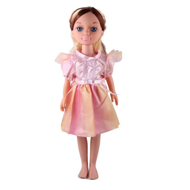 Moda śliczna sukienka wróżki księżniczka sukienka ubrania akcesoria dla Nancy Doll 16 Cal lalek dziewczyny zabawki