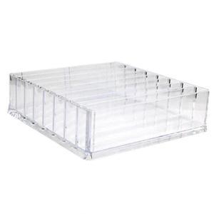 Image 4 - Caja de almacenamiento de organizador de maquillaje de acrílico transparente de 8 rejillas, caja de almacenamiento de maquillaje para mujeres, lápiz labial, sombra de ojos, soporte de exhibición, caja de almacenamiento de cosméticos