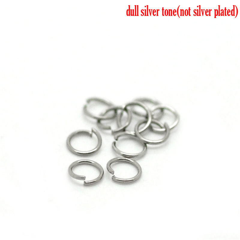 150 PCs Stainless Steel Opened Jump Rings Finding Round  For Jewelry Necklace Bracelet DIY Handmade Accessories 3.5mm Dia.