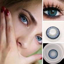 2 шт Египет seriers Цвет ed контактные линзы для глаз год бросить