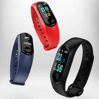 M3 Plus Smart Armband Sport Lauf Wasserdicht Pedometer Smart Uhr Fitness Smart Armband Blutdruck Heart Rate Monitor