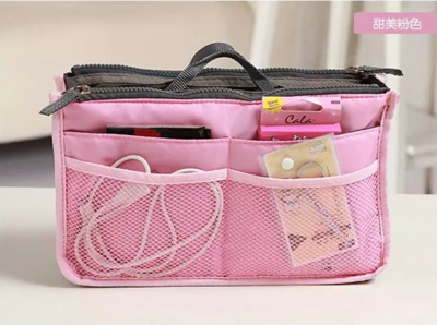 Organizing Bag Diaper Bag Bag Mommy Bag Maternity Package Accessories Storgage Bag Double Zipper Makeup Wash Bag Seperated Inner