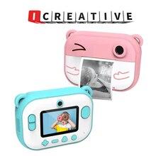 High Definition 2.4 Inch IPS Children Instant Print Polaroid Camera Digital Camera Kids Camera Toys for Girls Instant Camera