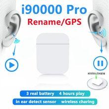 2021 Новая беспроводная bluetooth гарнитура i90000pro 1:1 подходит