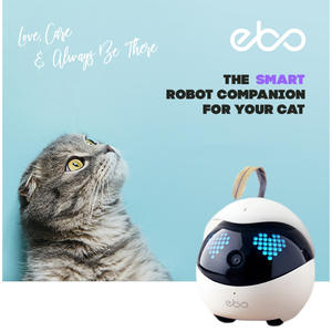 Ebo Smart Robot Companion for Your Pet Cat Dog