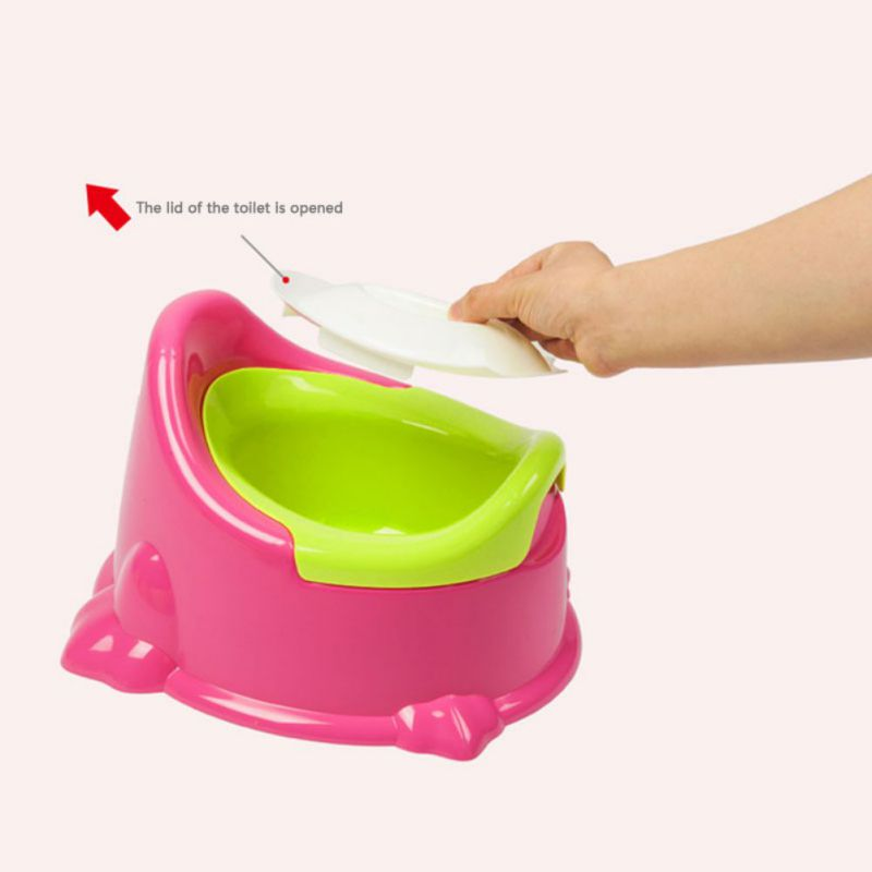 Lovely Baby Toddler Potty Toilet Kids Girls Boys Comfort Potty Seat Toilet Urinal Potty Portable Pedestal