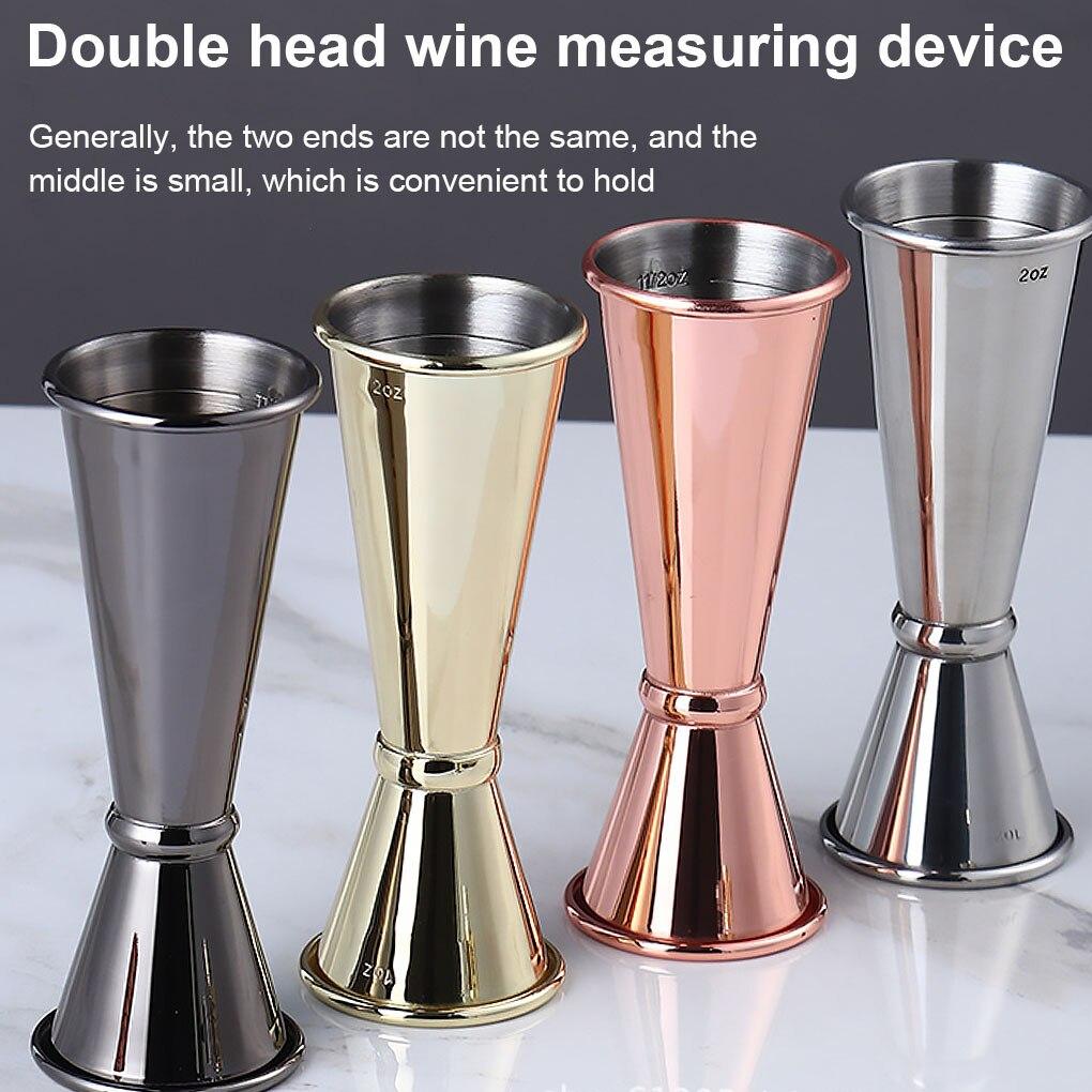 Мерный стаканчик из японской нержавеющей стали для коктейльных баров, 1 унция/2 унции