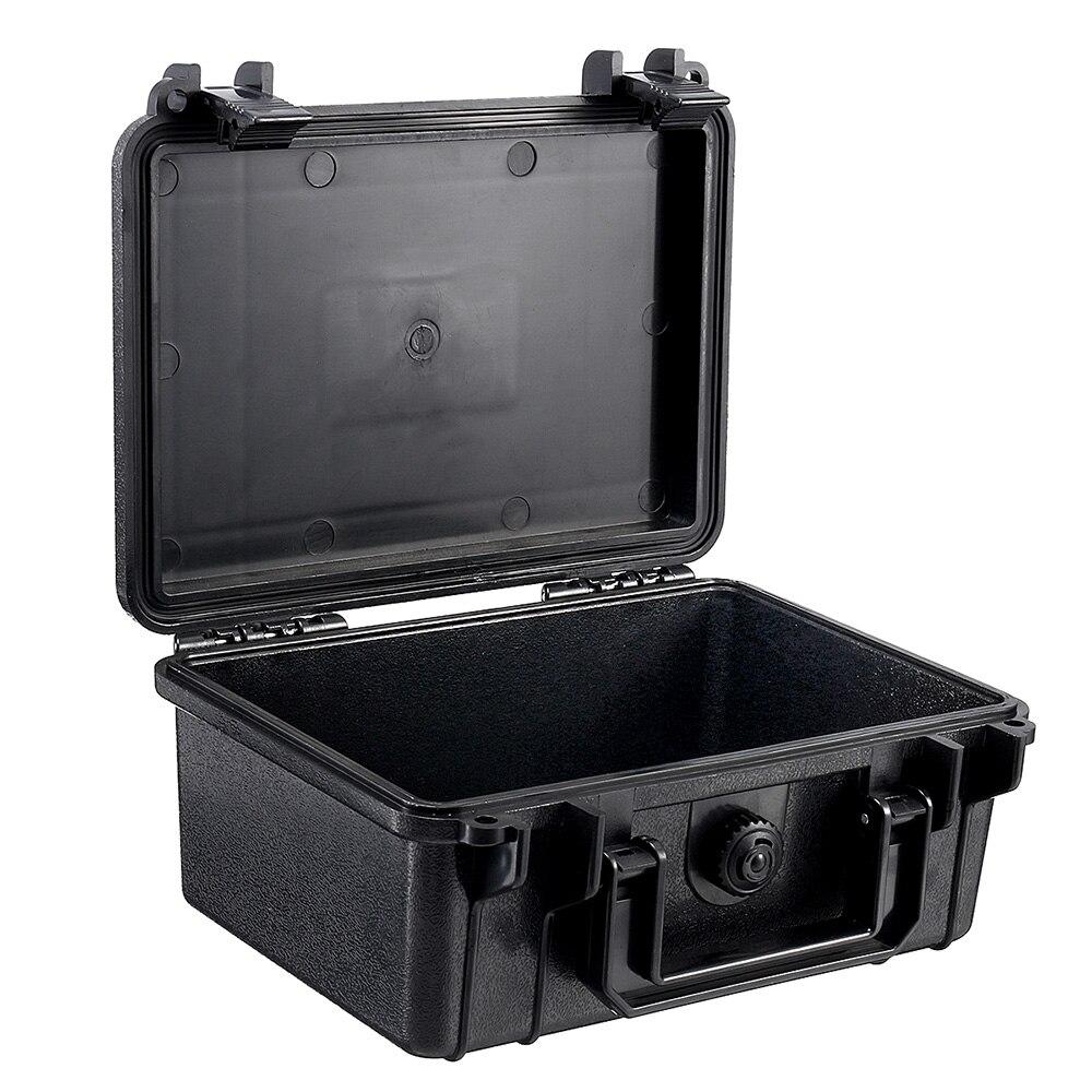 Черный водонепроницаемый ящик для инструментов жесткий футляр для инструментов сумка водонепроницаемый ящик для инструментов коробка