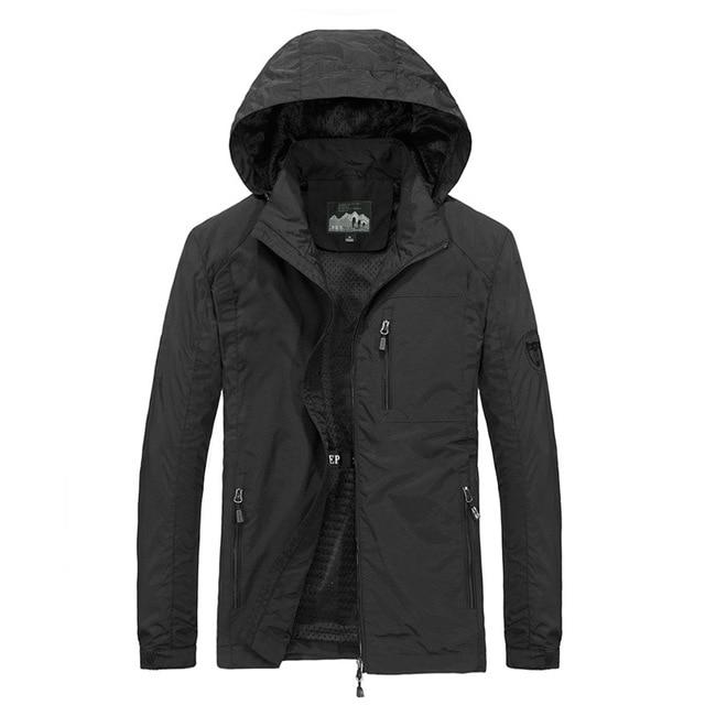 Men's Windbreaker Jackets Waterproof Military Hooded Water Proof Wind Breaker Casual Coat Male Clothing 2021 Autumn Jackets Men 5