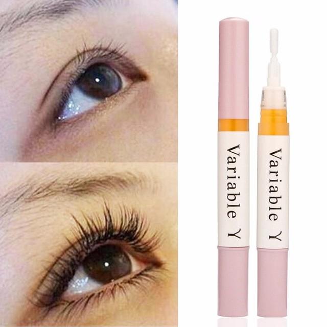 1Pc Castor Oil Eyelash Growth Serum Portable Thick Eyelash Growth Mild Maintenance Nourishing Eyelash Growth Enhancer