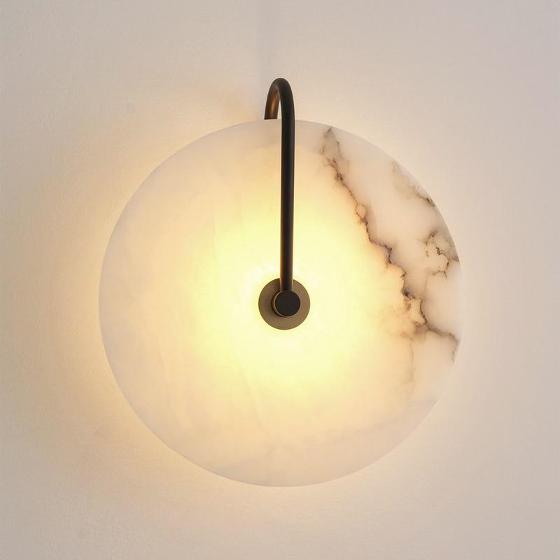 nova nordic mordern simples lampada de parede quarto ao lado da sala estar escadas projeto do