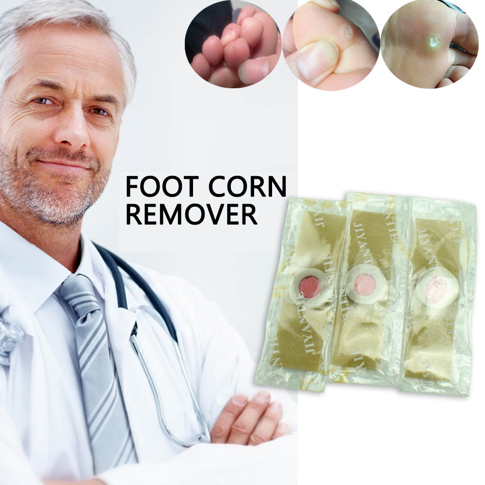 24pcs Foot Care Medical Plaster Foot Corn Removal Calluses Plantar Warts Thorn Plaster Health Care Pain Relief Pads Patch D1467