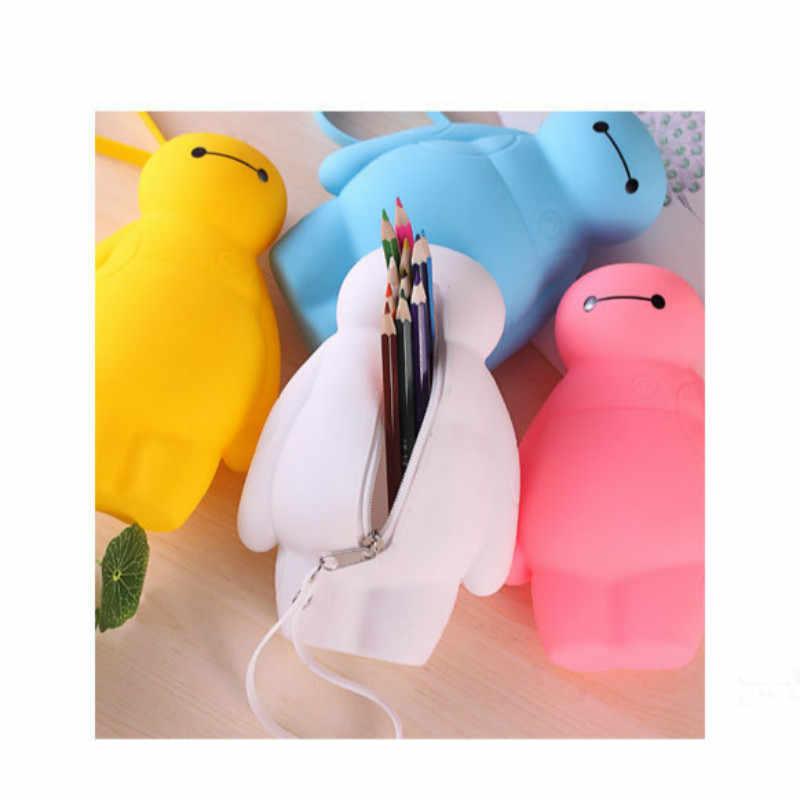 1 قطعة الروبوت حقيبة أقلام رصاص عمل الشكل الجلوس الموقف نموذج أنيمي مصغرة دمية الديكور جمع تمثال اللعب نموذج