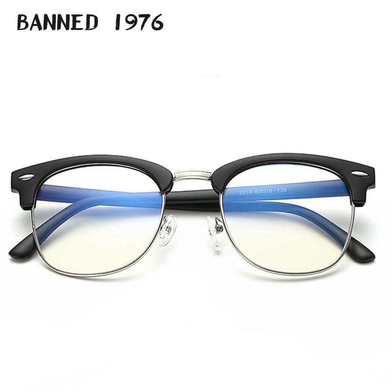 2018 Anti Uv Blue Light Men Women Optical Frame Eyeglasses Fashion Reading Goggles Classic Eye Glasses Computer Eyewear Oculos