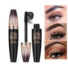 4D Silk Fiber Eyelash Mascara Quick Dry Long Waterproof Rimel Maquiagem Eyelashes Extension Mascara Makeup Cosmetic недорого