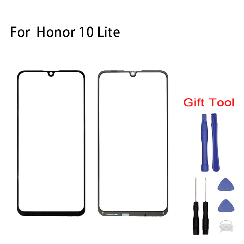 For Huawei Honor 10 Lite HRY-AL00 Touch Screen Glass Sensor Panel Front Glass Panel Digitizer Touchpad Repair Spare Parts