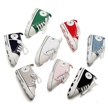 2020 Newest Toddler Baby Canvas Shoes Casual Sports Sneakers Kids Children Soft Sole Toddler Shoes 10Colors