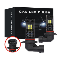 цены на 2pcs Fog Lamp 9005 H4 H7 Car Light Bulb 9003 P20d HB3 2525 12V White 6500K 12 LED 160W Daytime Running Light в интернет-магазинах
