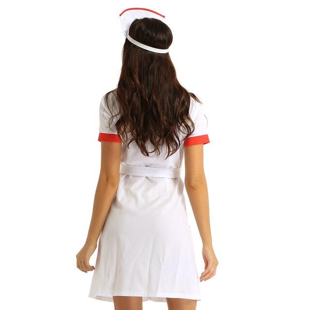 Sexy Halloween Cosplay Nurse Kinky Costume #C1526 6
