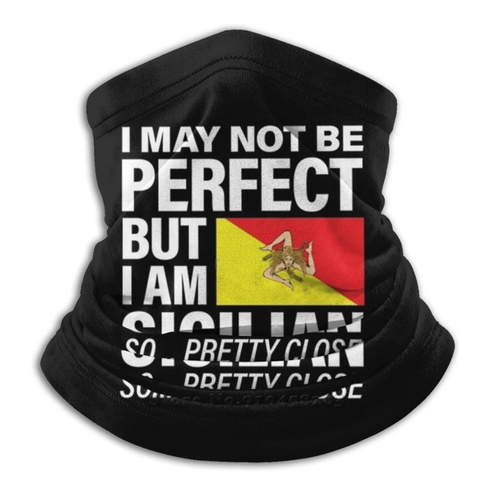 Забавный идеальный сицилийский флаг дизайн Сицилия-я люблю Сицилию шарф бандана повязка на голову для улицы скалолазания теплая маска для лица сицилиан