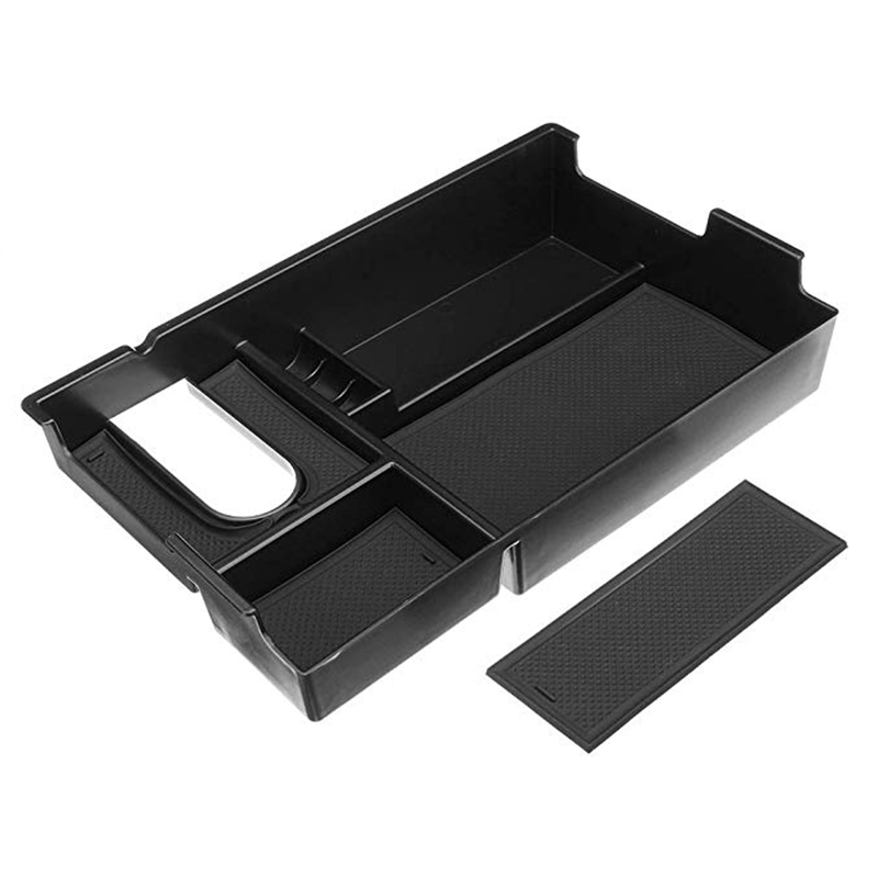 Para Toyota 2014-2018 Bandeja de Armazenamento Center Console Braço Organizador Box