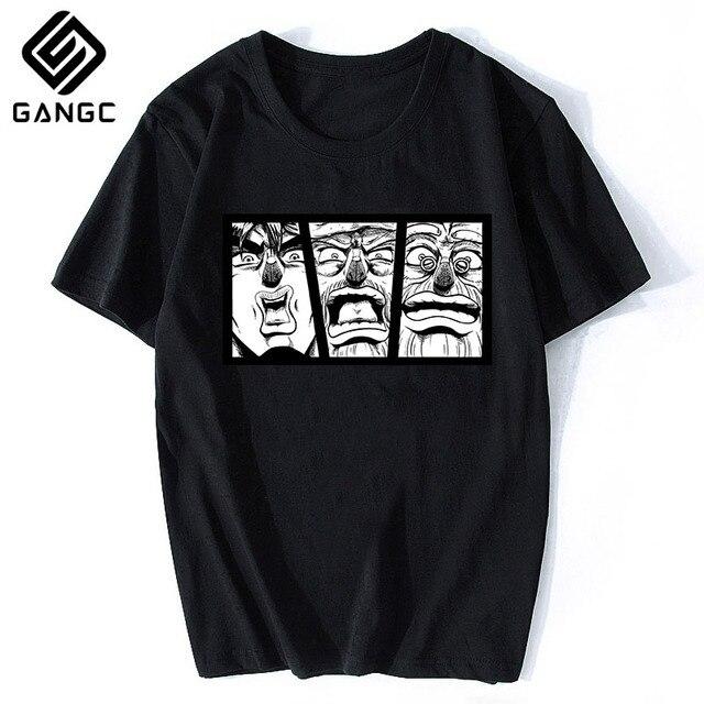 2020 summer new anime Harajuku JOJO T-shirt O-neck printing casual fashion short-sleeved street clothing direct sales 4