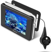 Подводная рыболовная камера HD 1000 TVL CAM с глубинной температурой дисплей камера для поиска рыбы для озера море ледовый катер каяк рыбалка