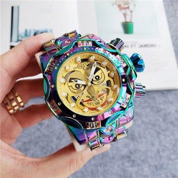 Men's Watch Wristwatch Quartz Fashion Business Symphony Clown Joker Design Wristwatch zegarek męski relogio automatico masculino