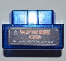 Super mini elm327 bluetooth obd2 carro scanner elm 327 v2.1 apto para android leitor de código torque ferramenta de diagnóstico