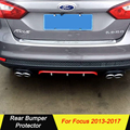 Высокое качество  задний бампер  диффузор  защитные бамперы  красиво декорированный комплект для Ford Focus 2013 2014 2015 2016 2017
