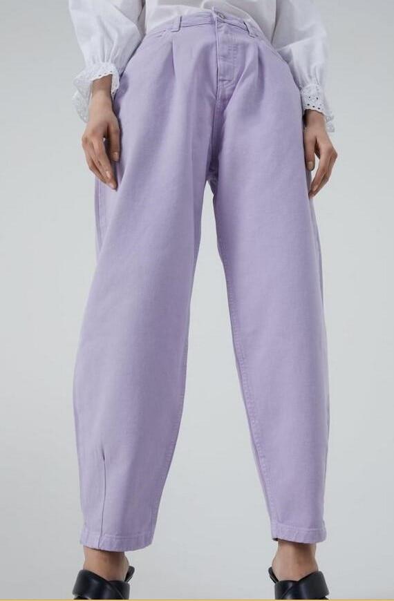 catonATOZ 2248 Khaki Female Cargo Pants High Waist Harem Loose Jeans Plus Size Trousers Woman Casual Streetwear Mom Jeans