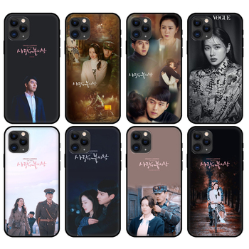 Black tpu case for iphone 5 5s se 6 6s 7 8 plus x 10 cover for iphone XR XS 11 pro MAX case Son Ye Jin Hyun Bin image