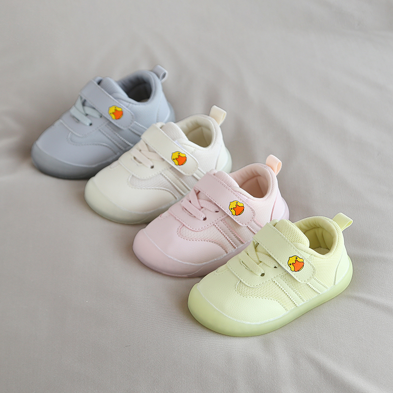 2020 Spring Baby Girls Boys Toddler Shoes Cartoon Toddler Infant Casual Shoes Soft Bottom Non-Slip Outdoor Children Sneakers