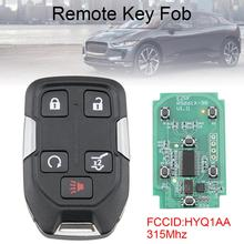 315Mhz 5 Buttons Smart Car Remote Key Fob with ID46 Chip HYQ1AA Fit for GMC Terrain/Suburban Tahoe