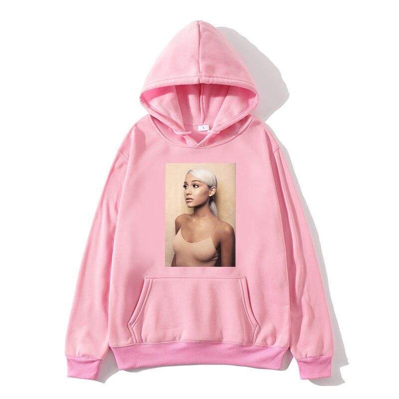 Ariana Grande Sweatshirt 2019 No Tears Left To Cry Hoodie Women Print God Is A Woman Sweatshirts Pullover Hoodies Harajuku