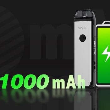 SMOK – Kit de dosettes ACRO pour Cigarette électronique, 25W, batterie 1000mAh, avec filet ACRO, dosette de 0,8 ohm, cartouche de 2ml