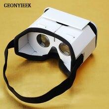 DIY Portátil Óculos de Realidade Virtual Óculos Google Papelão 3D VR VR óculos Para SmartPhones Para O Iphone X 7 8