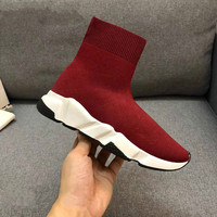 Women's Stretch Fabric Brand Shoes Women Socks Flats Platform Breathable Hiking Shoes Mesh Mesh Lightweight Leisure Women Boots